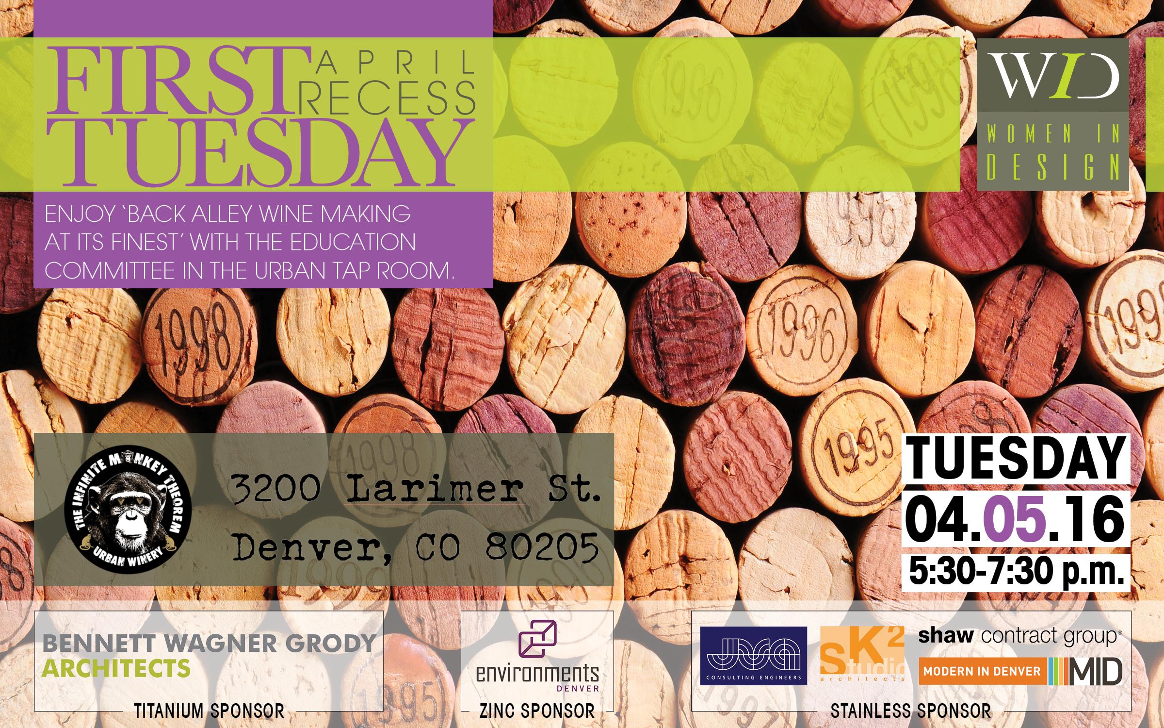 April First Tuesday Recess Flyer