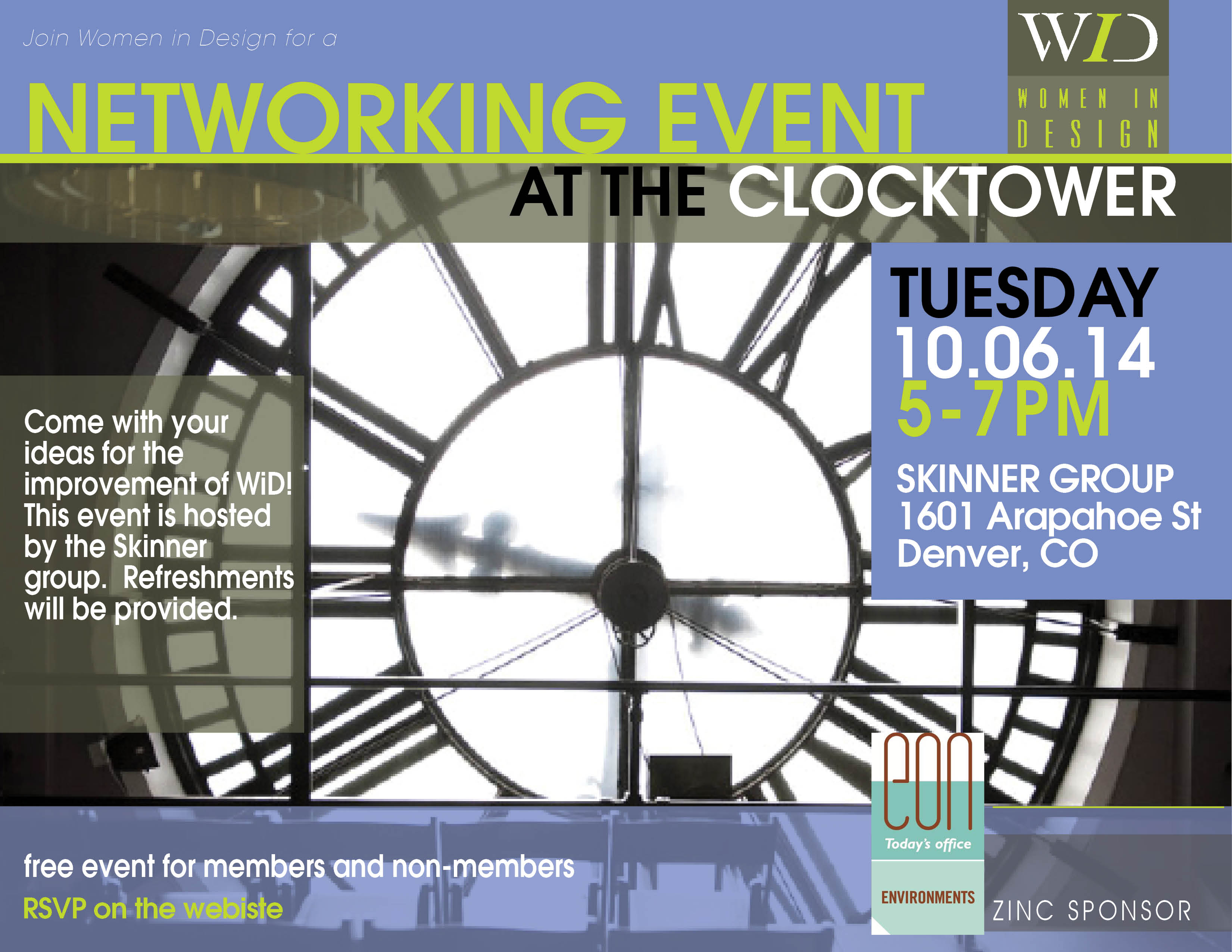network event at clocktower